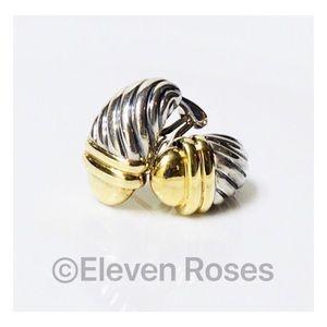 David Yurman Classic Cable Acorn Huggie Earrings